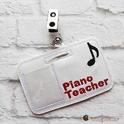 Pretend Play - ITH - Piano Teacher Badge
