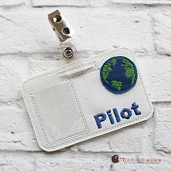 Pretend Play - ITH - Pilot Badge ID Tag