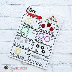 Pretend Play - ITH - Pizza Order Form