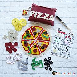 Pretend Play - ITH - Pizza Play Set