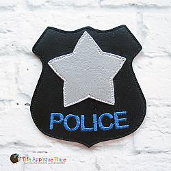 Pretend Play - ITH - Police Badge