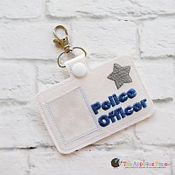 Pretend Play - ITH - Police Officer Badge ID Tag