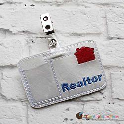 Pretend Play - ITH - Realtor Badge ID Tag
