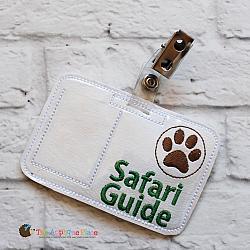 Pretend Play - ITH - Safari Guide Badge ID Tag