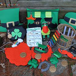 ITH - Saint Patrick's Day Pretend Play Set