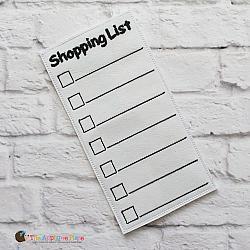 Pretend Play - ITH - Shopping List