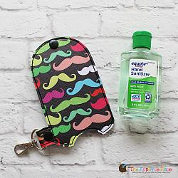 Case - Key Fob - 3 Oz Hand Sanitizer Case (Snap Tab)
