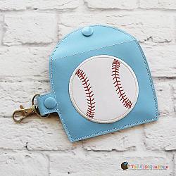 Case - Key Fob - Gum Case - Version 2 - Baseball (Snap Tab)