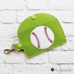 Case - Key Fob - Gum Case - Version 3 - Baseball (Snap Tab)