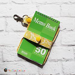 Notebook Holder - Key Fob - Snap Strap Notebook Case (Snap Tab)