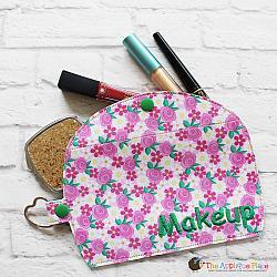 Case - Key Fob - Makeup Case (Snap Tab)