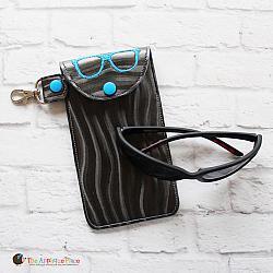 Case - Key Fob - Sunglasses Case (Snap Tab)