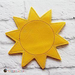 Puppet - Sun (finger size)