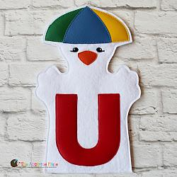 Puppet - U for Umberlla Bird - Colorful