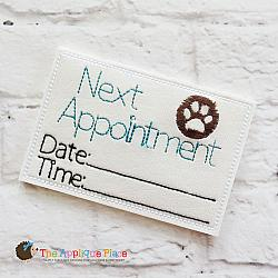 Pretend Play - ITH - Vet Appointment Card