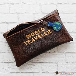Pretend Play - ITH - World Traveler Bag and World Bag Tag