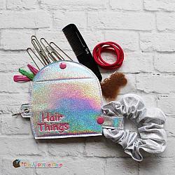 Case - Key Fob - Hair Things Case - X-Large (Eyelet)