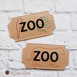 Pretend Play - ITH - Zoo Tickets