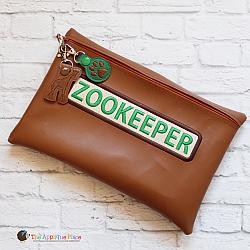 Pretend Play - ITH - Zookeeper Bag and Bag Tags