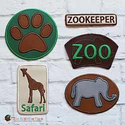 Pretend Play - ITH - Zookeeper Patches
