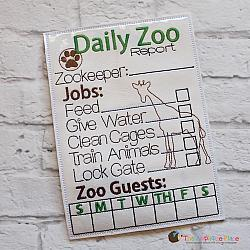 Pretend Play - ITH - Zookeeper Report