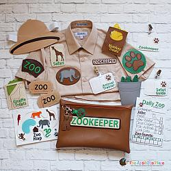Pretend Play - ITH - Zookeeper Set