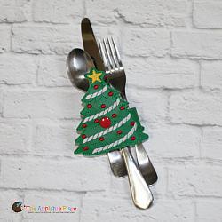 ITH - Napkin Holder - Christmas Tree