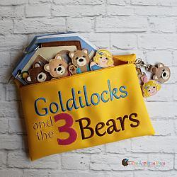 Bag - In the Hoop Goldilocks Bag and Goldilocks & Baby Bear Bag Tags