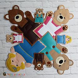 Puppet Set - Goldilocks and the Three Bears