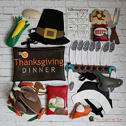 ITH - Thanksgiving Dinner Pretend Play Set