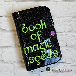 ITH - Magic Book of Spells Notebook Cover