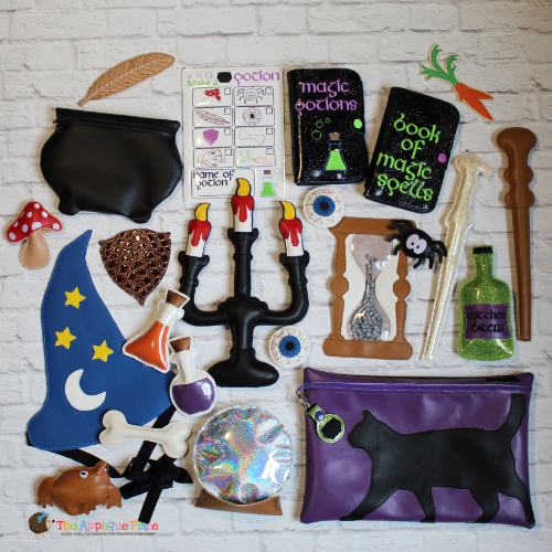 ITH - Witch and Wizard Pretend Play Set