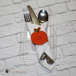ITH - Napkin Holder - Pumpkin